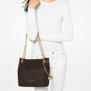 Handbags - Michael Kors Signature Chain Medium Tote
